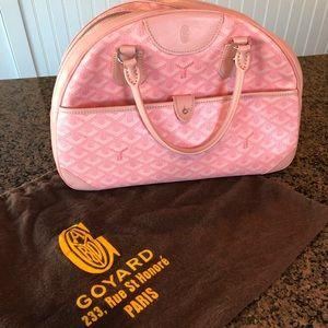 GOYARD Chevron Saint St. Jeanne MM Bowler Pink